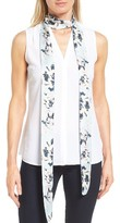 Women's Halogen Blossoms Skinny Scarf
