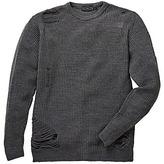 Label J Ripped Stitch Knit Regular