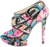 Nicholas Kirkwood Platform Multistrap Sandals