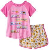 Girls 4-12 Texting Conversation Pajama Set