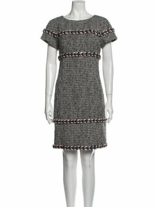 Chanel 2013 Knee-Length Dress Grey