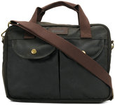 Barbour pocket embellished laptop bag