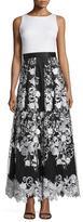 Aidan Mattox Floral Long Dress 54469680