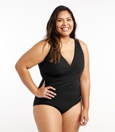 L.L. Bean Women's Slimming Swimwear, Tanksuit
