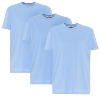 Prada Set of 3 cotton T-shirts