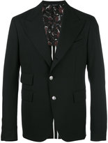Dolce & Gabbana single breasted jacket - men - Spandex/Elastane/Viscose/Virgin Wool - 52