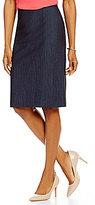 Preston & York Kelly Stretch Denim Pencil Skirt