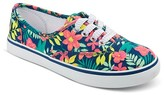 Circo Girls' Hilde Prints Lace Up Canvas Sneakers