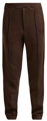 Fendi Logo-tape Track Pants - Womens - Brown