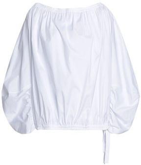 Roksanda Gathered Cotton-poplin Blouse