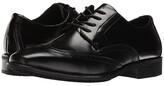 Stacy Adams Adler Slip Resistant Wingtip Oxford (Black) Men's Lace Up Wing Tip Shoes