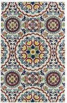 Leon Hand-tufted de Suzani Ivory Rug (5' x 7'9)