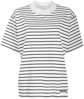 Alexander Wang two tone striped T-shirt