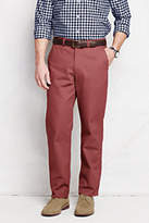 Lands' End Men's Pre-hemmed Lighthouse Traditional Fit Chino Pants-Nautical Red