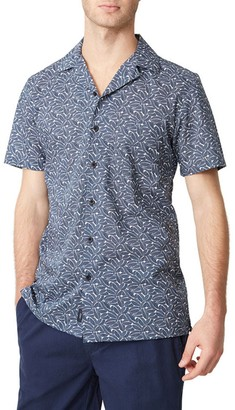 Onia Vacation Patterned Short Sleeve Shirt