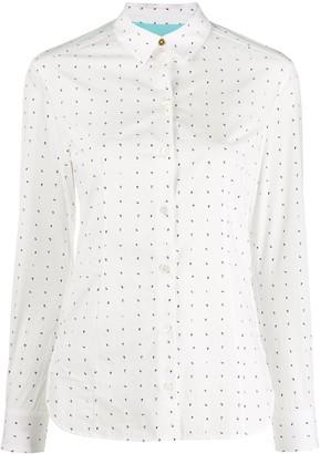Paul Smith Number-Print Cotton Shirt