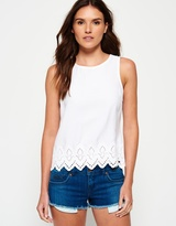 Superdry Broderie Anglais Top