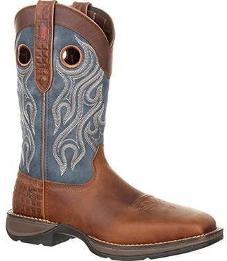 Durango Men's Rebel Steel Toe Pull-on Western Boot Mid Calf