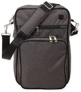 Ju-Ju-Be Onyx Helix Messenger Diaper Bag in Chrome