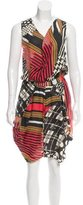 Zero Maria Cornejo Printed Linen Dress