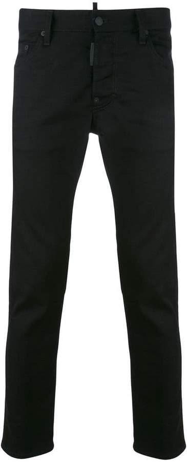 DSQUARED2 slim wash jeans