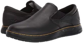 Dr. Martens Work Brockley Slip Resistant (Black/Black/Black) Men's Shoes