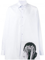 Raf Simons Raf Simon x Robert Mapplethorpe 'Alistair Butler' oversized shirt