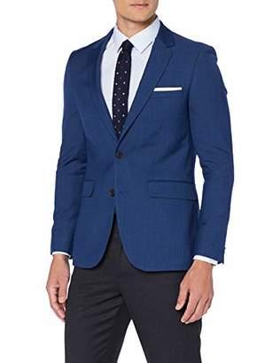 Burton Menswear London Men's Slim Fit Suit Jacket Mid Blue 109, (Size:)