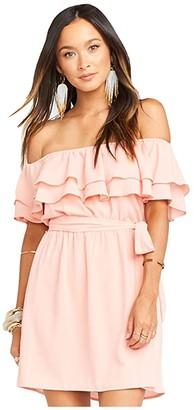 Show Me Your Mumu Rosie Mini Dress (Peach) Women's Dress