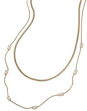 Nadri Cece Layered Necklace, 16-19