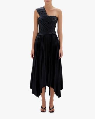Jonathan Simkhai Strapless Knot Midi Dress