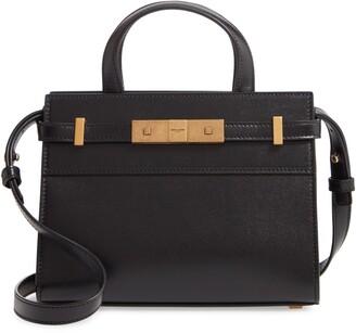 Saint Laurent Nano Manhattan Leather Crossbody Bag