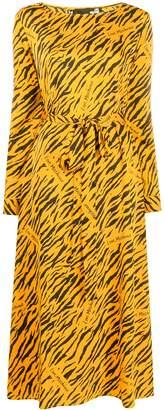 Love Moschino tiger print maxi dress