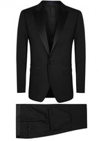 Lanvin Black Wool And Mohair Blend Tuxedo