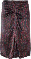 Isabel Marant Sliven skirt - women - Silk/Cotton - 36