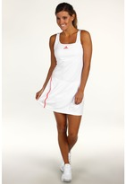 adidas Women's adizero Dress - Wimbledon (White/Infrared) - Apparel