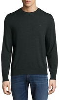 Brooks Brothers Crewneck Ribbed Merino Wool Sweater