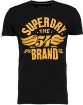Superdry Print Tshirt Black