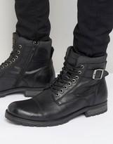 Jack & Jones Albany Warm Lining Leather Boots