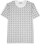 Mcq Alexander Mcqueen McQ Alexander McQueen White Logo-print Cotton T-shirt
