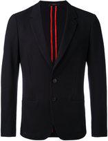 Paul Smith notched lapel blazer - men - Cotton/Cupro - 48