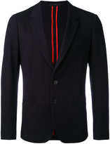 Paul Smith notched lapel blazer - men - Cotton/Cupro - 52