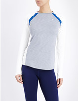 Under Armour ColdGear long-sleeved stretch-jersey top