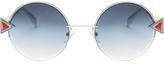 Fendi Rainbow round-frame sunglasses