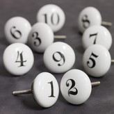 Graham and Green Number Knobs