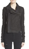 Rick Owens Women's 'Classic' Lambskin Leather Jacket
