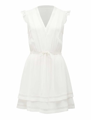 Forever New Molly Lace Skater Dress - Ivory - 10