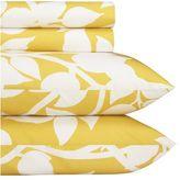 Marimekko® Madison Yellow Queen Sheet Set