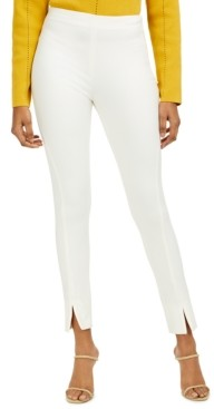 French Connection Sonya Front-Slit Pants