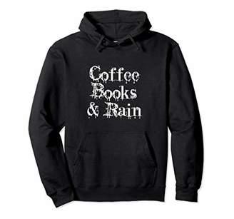 Coffee Books And Rain T-shirt Halloween Christmas Funny Cool